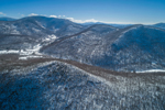 Green Mountains and Green Mountain National Forest in Winter, View from West Rupert, VT