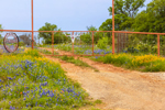 Entrance Gate to Ranch in Texas Hill Country, near Llano, TX
