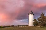 Spectacular Sunset at East Chop Lighthouse, Martha's Vineyard, Oak Bluffs, MA