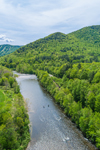 Deerfield River, Pioneer Valley and Berkshire Mountains, Charlemont, MA