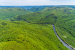Deerfield River Winding through Berkshire Mountains, Florida and Rowe, MA