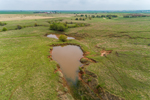 Pond and Ranch Lands in Grant County, near Nash, OK