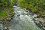 Hoosic River in Spring, Taconic Mountains Region, Petersburgh, NY