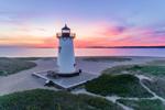 Predawn at Edgartown Lighthouse, Martha's Vineyard, Edgartown, MA