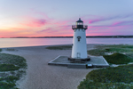 Predawn at Edgartown Lighthouse, Martha's Vineyard, Edgartown, MA