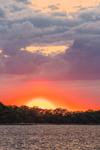 Dramatic Sunset on Great Salt Pond, Block Island, RI