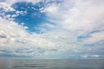 Clouds over Block Island Sound, off Block Island, RI