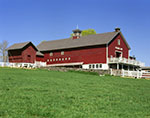 Big Red Barn on Hillandale Farm