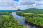 Connecticut River, Mount Sugarloaf and Pocumtuck Range in Summer, Sunderland, MA