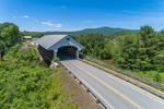 Smith Covered Bridge Spanning Baker River, Plymouth, NH