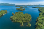 Corns Cove and Islands on Squam Lake, Holderness, NH