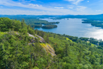 View from Eagle Cliff overlooking Squam Lake, Sandwich, NH