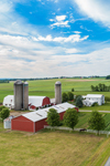 Farm along Country Road, Finger Lakes Region, near Village of Penn Yan, Town of Milo, NY