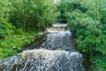Waterfalls on Salmon Creek, Great Lakes Region, Sodus, NY