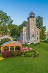 Big Sodus Light (Old Sodus Point Lighthouse), Sodus Bay, Lake Ontario, Great Lakes Seaway Trail, Village of Sodus Point, Sodus, NY
