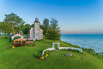 Big Sodus Light (Old Sodus Point Lighthouse), Sodus Bay, Lake Ontario, Great Lakes Seaway Trail, Village of Sodus Point, Sodus, NY