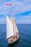 "Schooner ""Surprise"" Outside Camden Harbor, West Penobscot Bay, Camden, ME"