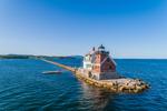Rockland Breakwater Light, Rockland Harbor, West Penobscot Bay, Rockland, ME