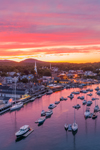 Spectacular Sunset over Camden Harbor, Camden, ME