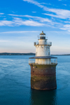 Lubec Channel Light in Early Morning, Lubec Channel, Lubec, ME