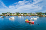 Lobster Boats in Barney Cove, Beals Island, Town of Beals, ME