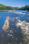 Sumner Falls (aka Hartland Rapids) on Connecticut River, View from Plainfield, NH