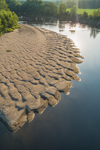 Sandbar on Connecticut River, Maidstone, VT
