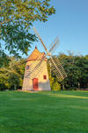 Historic Eastham Windmill in Early Morning Light, Oldest Windmill on Cape Cod, National Register of Historic Places, Eastham, MA