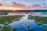 Dramatic Sunset at Royalston Eagle Reserve, Royalston, MA
