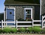 """""""Nautilus"""" Wharf House, Nantucket Harbor"""