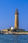 Little Gull Island Lighthouse, Long Island Sound, Long Island, Southold, NY