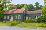 Colonial-Style Home and Daylilies, Royalston, MA