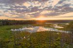 Sunset at Royalston Eagle Reserve, Royalston, MA