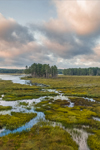 Early Morning Clouds at Royalston Eagle Reserve, Royalston, MA