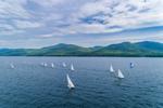 Sailboats Making Way on Lake George near Boon Bay, Adirondack Park, Bolton, NY