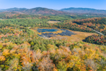 View from Panther Mountain in Autumn, Adirondack Park, Harrietstown, NY