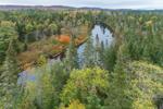 Hudson River in Autumn, Adirondack Park, Newcomb, NY