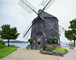 Port of Sag Harbor Information Center Windmill, Sag Harbor, Long Island`