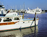 The Old and the New: Traditional and Modern Designed Yachts, Sag Harbor, Long Island