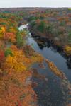 Five Mile River in Fall, Killingly, CT