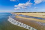Calm Surf at South Beach, Martha's Vineyard, Edgartown, MA