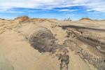 Shifting Sand Patterns in Dunes at Pea Island National Wildlife Refuge, Cape Hatteras National Seashore, Hatteras Island, near Rodanthe, NC