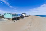 Homes along the Atlantic Ocean, Outer Banks, Nags Head, NC