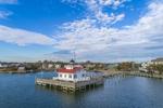 Roanoke Marshes Lighthouse, Part of North Carolina Maritime Museum, Roanoke Island Festival Park, Outer Banks, Manteo, NC