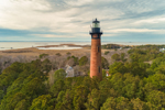 Currituck Beach Lighthouse, Heritage Park, Outer Banks, Corolla, NC