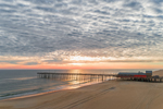 Outer Banks Fishing Pier at Sunrise, Outer Banks, Nags Head, NC