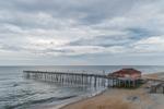 Rodanthe Pier along Atlantic Coast, Outer Banks, Hatteras Island, Rodanthe, NC