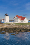 Hendricks Head Light Station at Mouth of Sheepscot River, Southport, ME