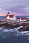 Predawn at The Cuckolds Light Station, The Cuckolds Islands, Southport, ME
