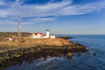 Early Evening Light at Eastern Point Lighthouse, Cape Ann, Gloucester, MA